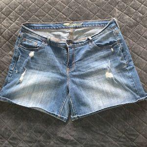 Boyfriend shorts